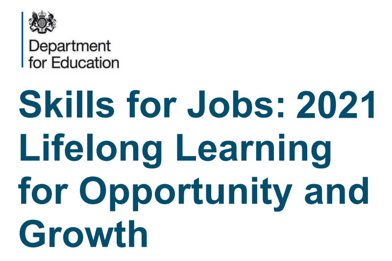 February 2021 - Post Brexit Jobs White Paper Focuses On High-Quality Apprenticeships